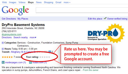 Dry Pro Google Places Image