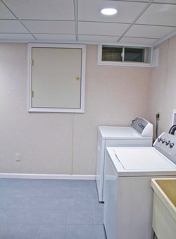 Basement Laundry Room Ideas Designs Total Basement Finishing