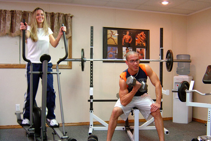 Basement Home Gym Ideas Designs Total Basement Finishing