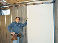 Basement-to-Beautiful wall system
