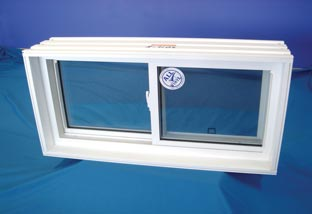 Our high-performance, double-pane basement sliding windows are far more secure than old-fashioned awning-style basement windows.
