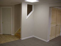 Insulated basement walls and floors