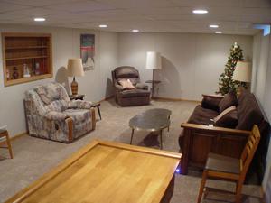 Basement Finishing Ideas - Family Room