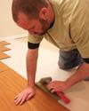 A tight click-fit allows MillCreek flooring to serve as a vapor barrier.