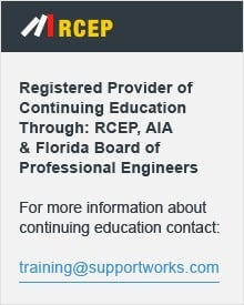 For more information about continuing education courses, contact Training@supportworks.com