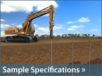 Sample Specifications