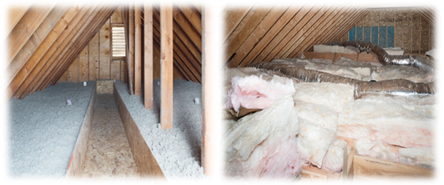 Cellulose or Fiberglass Insulation, Which is Better for Your Attic?