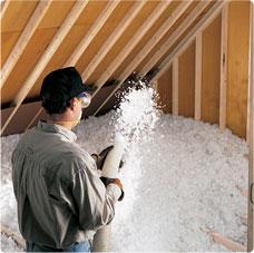Blown insulation in Ohio