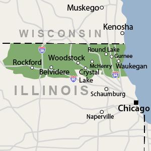 Our Illinois Service Area