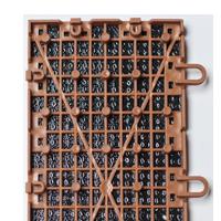 Raised peg design on bottom of ThermalDry plank