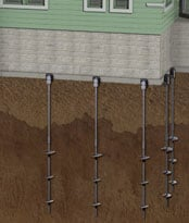 Foundation Helical Piers