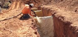 PolyLevel concrete leveling