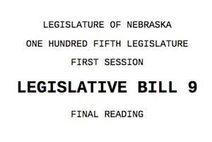 Nebraska radon bill