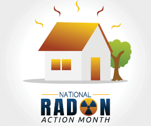 It's national Radon action month!
