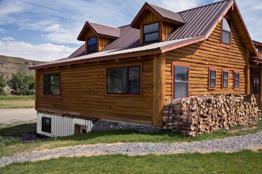 Log cabin foundation repair in Greater Duluth & nearby.