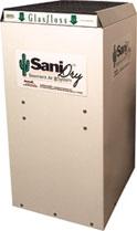 SaniDry™ dehumidifier and 35-pint dehumidifier