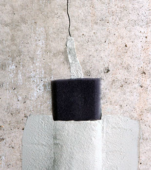 Our basement wall crack repair system