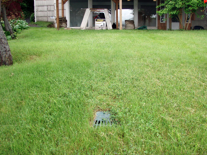 Sump Pump Discharge Lines Outdoor Drainage