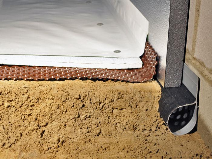 Our Complete Crawl E Vapor Barrier System