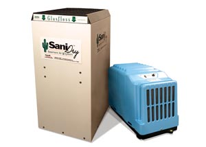 Energy efficient basement and crawl space dehumidifiers.