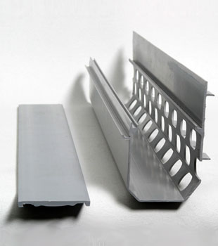 A drain tile system designed to handle iron ochre problems