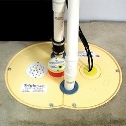 an airtight sump pump lid