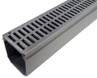 Channel Drain and Grate