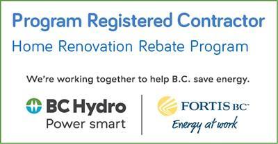 Home Renovation Rebate Program Registered Contractor logo