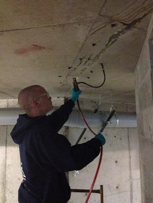 wall crack repair system in British Columbia