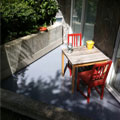 Sealed and protected concrete with a high-quality coating product installed
