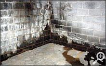 a basement waterproofing system installed in London