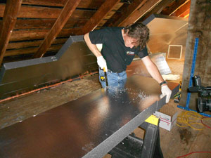 Rigid Foam Insulation with the SuperAttic System
