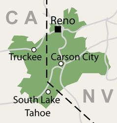 Our Nevada and California Service Area