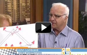 John Lombardi from John's Waterproofing on the KATU AM Northwest Show
