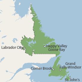Our Newfoundland and Labrador Service Area