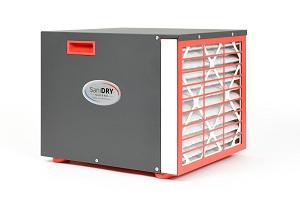 Le système de déshumidificateur SaniDry Sedona