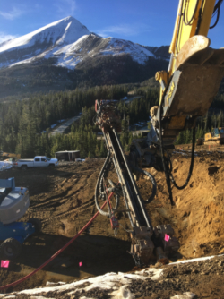 Micropiles in Montana and Wyoming