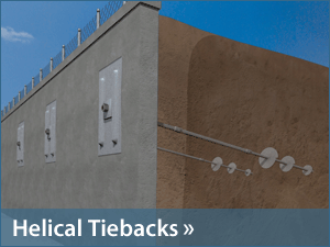 Helical Tiebacks