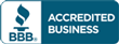 We are accredited with the Better Business Bureau