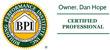 Building Performance Institute Certified Contractor
