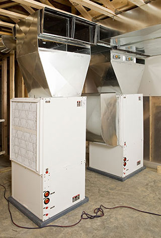Geothermal Heating Pump in Rochester