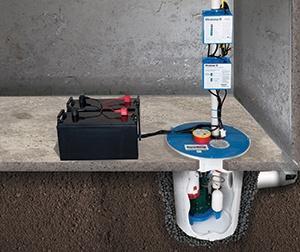 Les composantes du système UltraSumpMD ont été conçues pour travailler ensemble, fournissant une capacité de pompage élevée et fiable quand le réseau électrique tombe en panne.