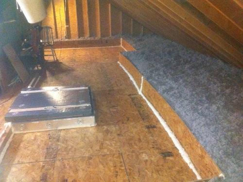cellulose attic insulation