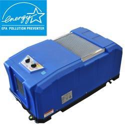 déshumidificateur à faible consommation d'énergie homologué ENERGY STAR® installé