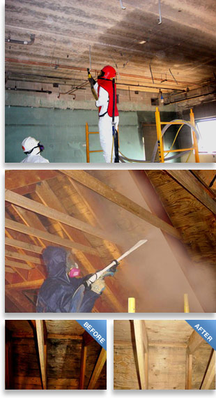 United Services structural cleaning process