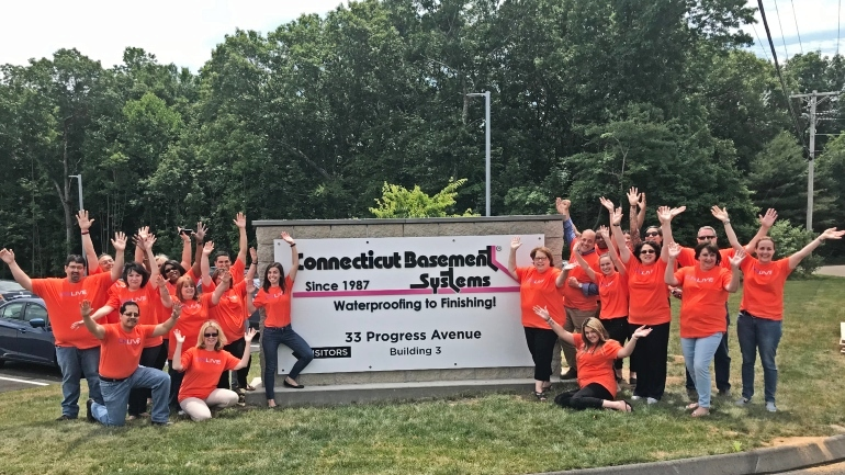 Basement Systems Team in Seymour, CT