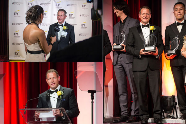 Basement Systems CEO Named Ernst & Young Entrepreneur of the Year