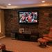 Remodeled basement living room