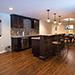 Remodeled Basement Bar