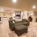 Remodeled Basement Bright Living Room